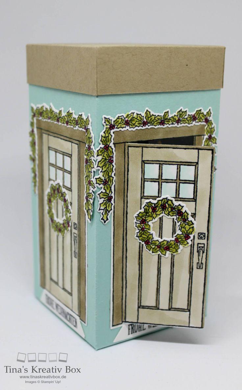 Weihnachtliche Bonbon Box - mit Produkten von Stampin' Up!