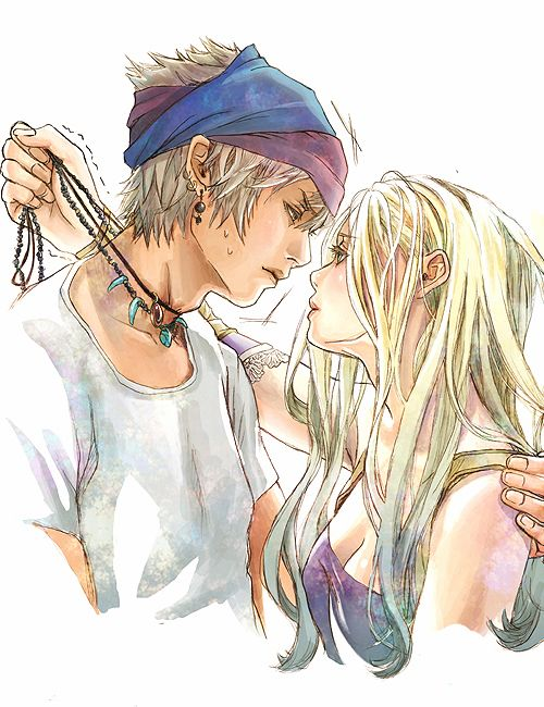 Best final fantasy couples pics 413