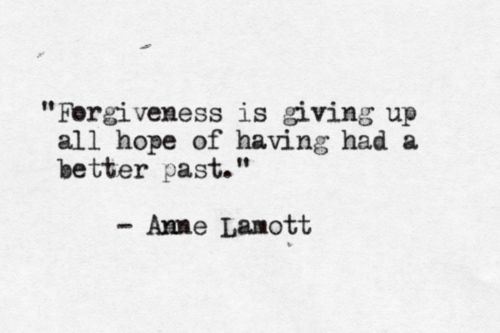 Anne Lamott on forgiveness