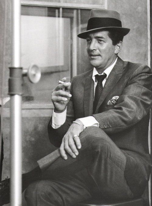 Dean Martin - one of the Rat Pack favourites! undated web photo - M'Reno