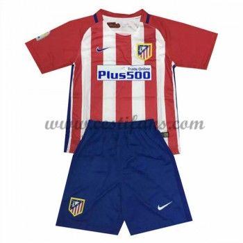 Atletico Madrid Dětské Fotbalové Dresy 2016-17 Domáci Dres