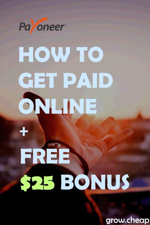 Payoneer Review: Get Paid Online + Free $25 Bonus!