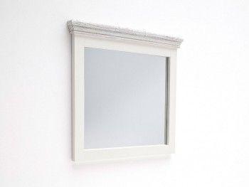 Zrcadlo v rustikálním rámu 80x75cm Epos