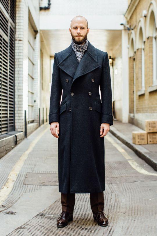 Edward Sexton long overcoat.