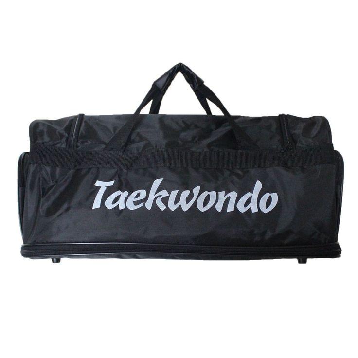 Taekwondo Gear Bag Space Extendable Side Pockets Shoulder Straps TKD MMA Stuffs #KSD