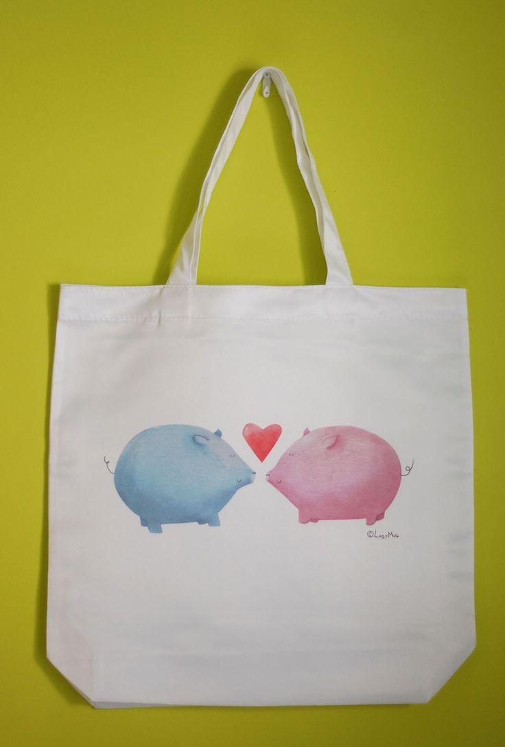 Bolsa Cerdis Enamorados