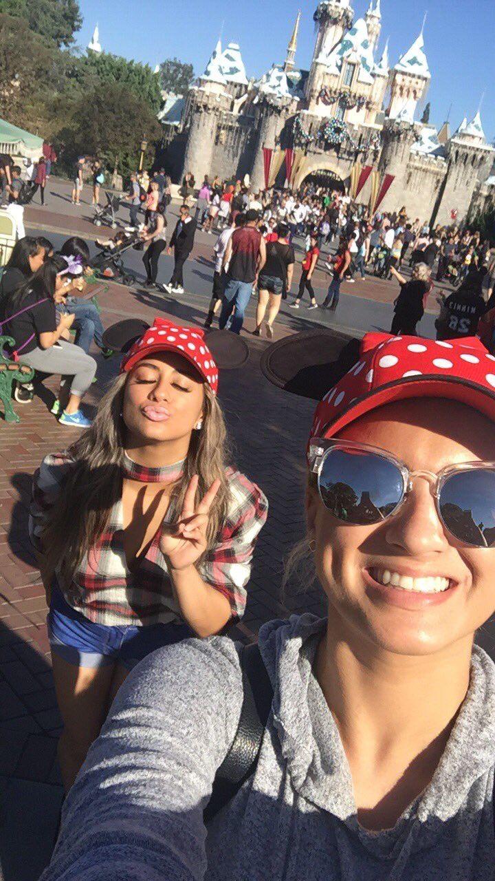 Tori Kelly & Ally Brooke at Disney world