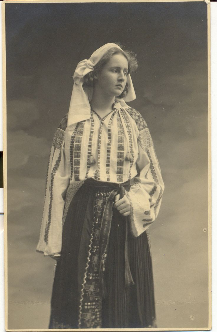 63 best images about traditional romanian clothing on ...