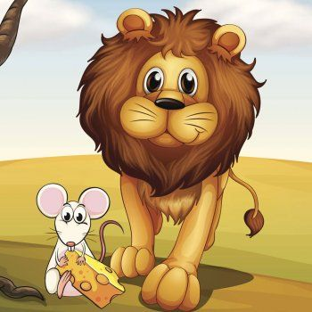 El león y el ratón, fábula infantil. En Guiainfantil.com puedes encontrar fábulas para educar en valores a los niños. Fábula popular del león y el ratón. Cuentos cortos con valores para niños. Fábulas infantiles con moraleja.