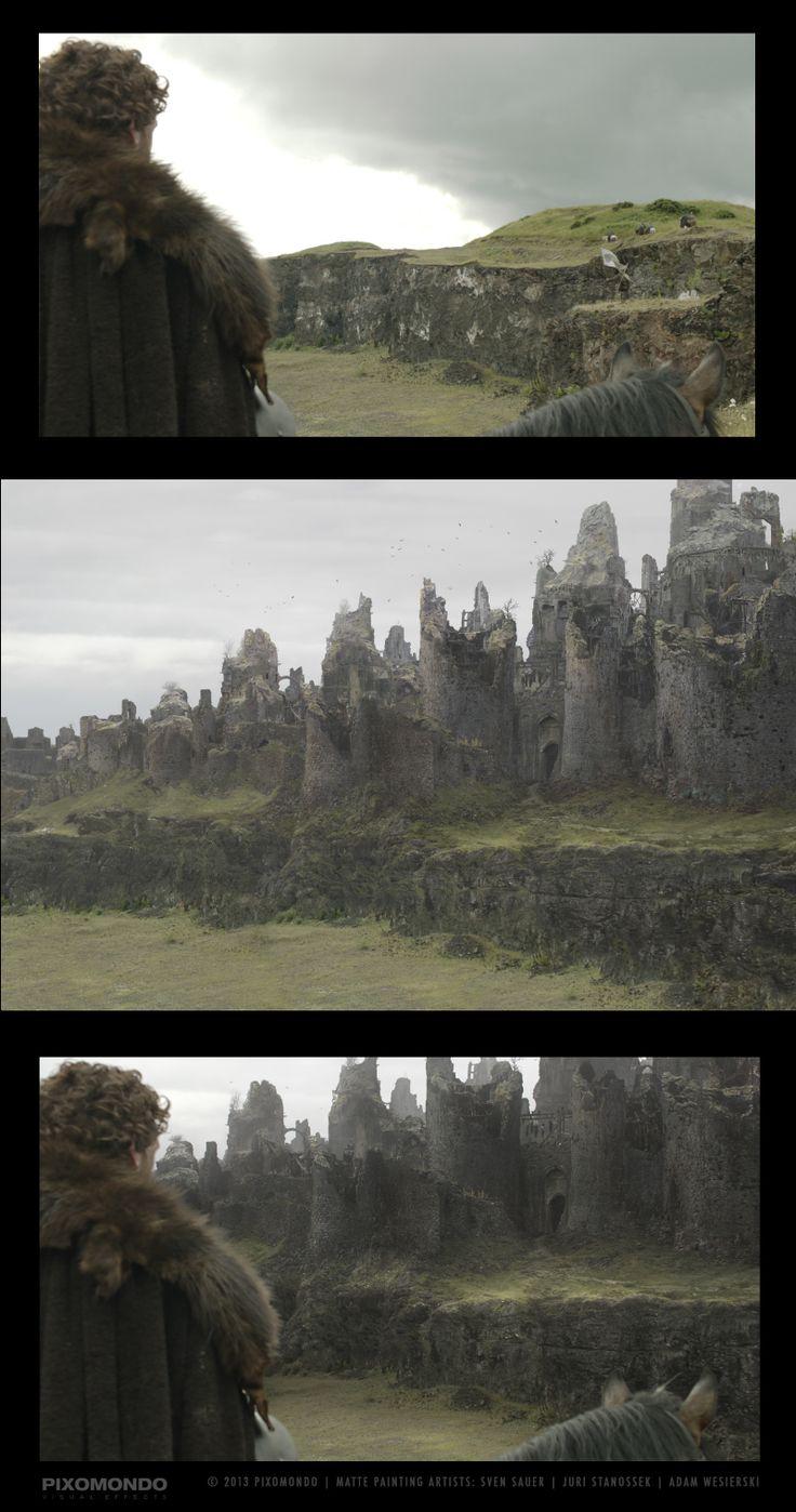 Game of Thrones Matte Painting   Abduzeedo Design Inspiration