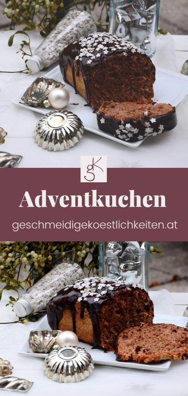 Adventkuchen Rezept Weihnachtsbackereien Pinterest Kuchen
