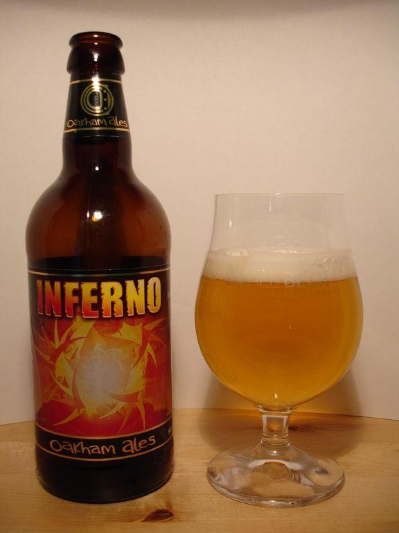 Oakham Ales - Inferno 4,4% pullo