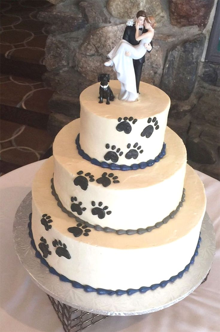 dog wedding cake #coolweddingcakes #weddingcakesdiy #differentweddingcakes #weddingcakeshowmuch