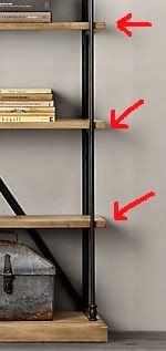Draven Made: DIY $100 Restoration Hardware Bookshelf
