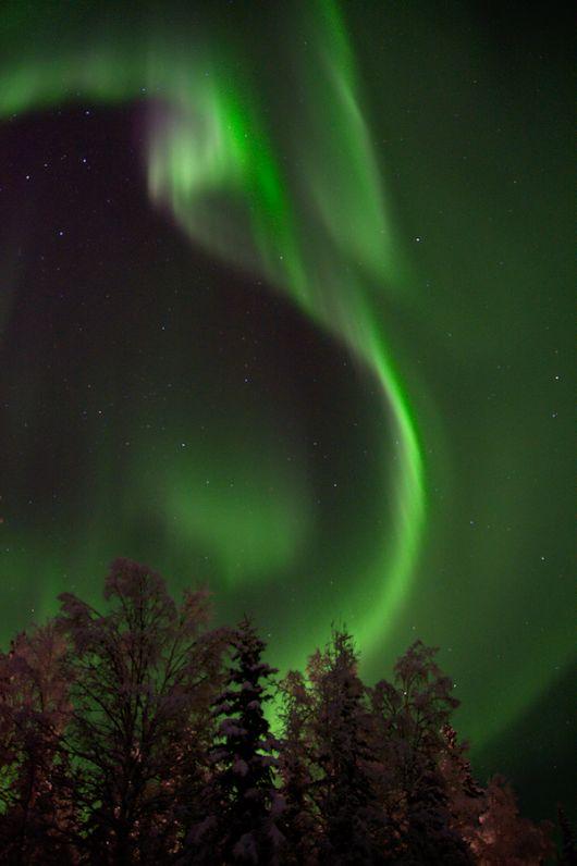 Photos d'aurores boréales