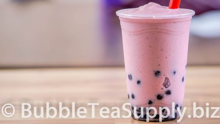 Learn how to make a Strawberry Banana Smoothie drink using Bubble Tea Supply's Strawberry Flavor Powder with the added twist of frozen strawberries and Neptune Ice Boba Tapioca Pearls. This is the standard recipe for our flavor powder however you can easily substitute in milk, almond milk, etc for the creamer and water. You can also change out the sweetener to match the flavor preferences of your customers or friends and family. Visit our website for the full recipe.