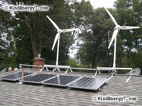 rooftop wind turbines and solar panels... I wonder how much electricity that could produce... enough for a salon?
