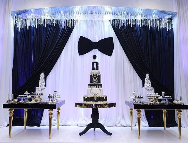 Bow tie affair! Event styling @mirrormirrordesigns #cake #cakepops
