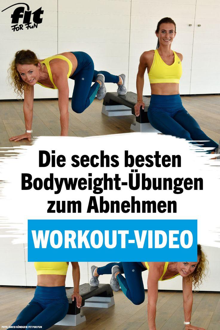 Workout-Video: Die 6 besten Bodyweight-Übungen zum Abnehmen