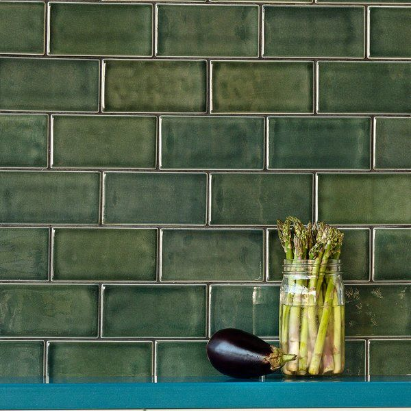 Oracle 3 X 6 Ceramic Subway Tile Green Subway Tile Ceramic