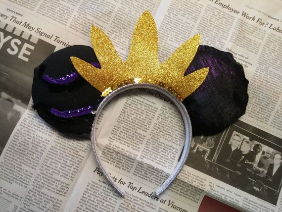 Accessories ursula ears disney ears ursula disney ears mickey ears minnie ears…