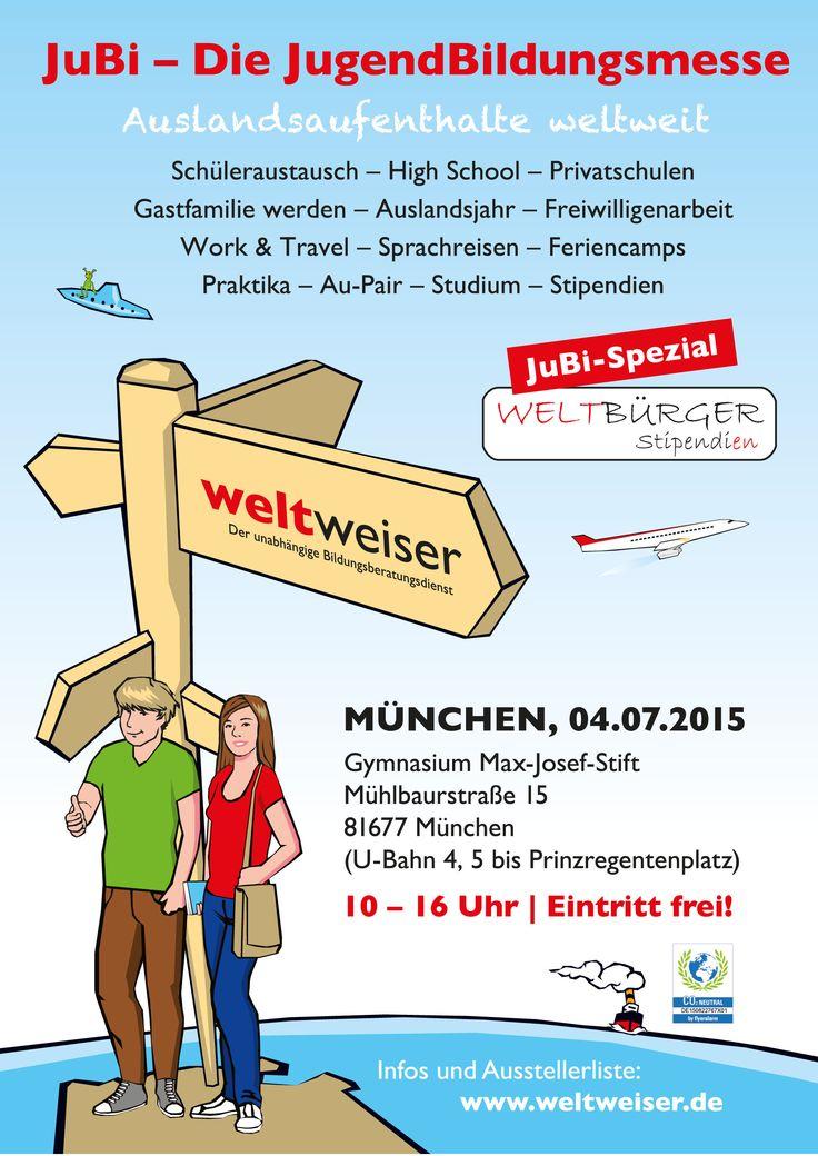 JugendBildungsmesse in #München: 04. Juli 2015, Gymnasium Max-Josef-Stift