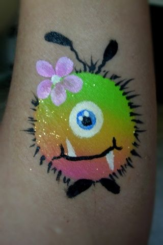 wuppie face painting - Google Search