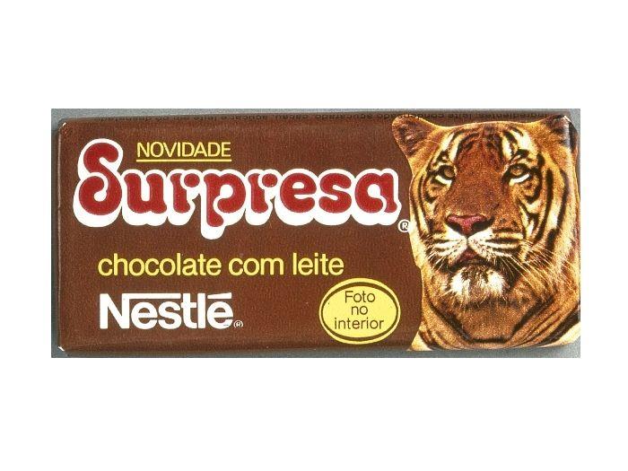 """Toda sexta-feira meu pai trazia um chocolate destes para casa e eu colecionava os """"cards"""" com informações sobre os animais! :)"""