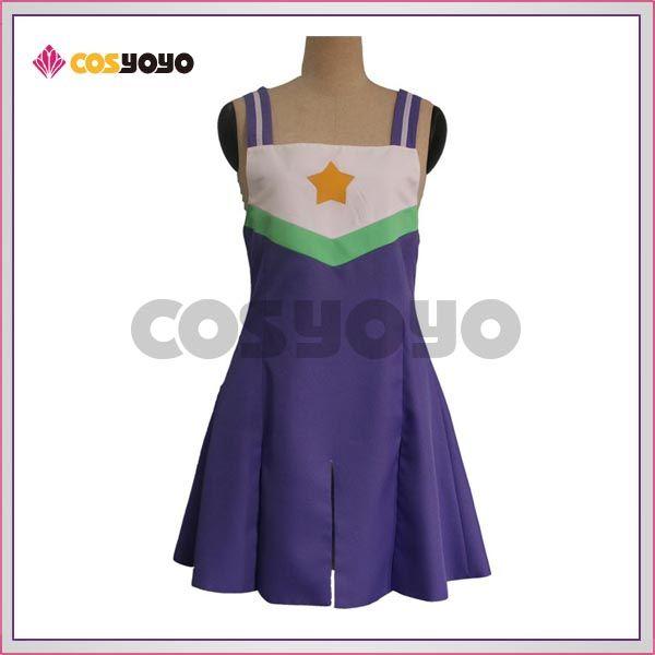 画像2: らき☆すた 泉こなた 柊つかさ 柊かがみ 高良みゆきチアガール チア服 コスプレ衣装