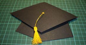 Hola!!! Como el mes de mayo, es época de graduaciones, me he puesto manos a la obra y he elaborado este gorro de graduación. Lo he hecho par...