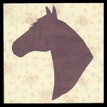 Texas Horse Quilt Pattern