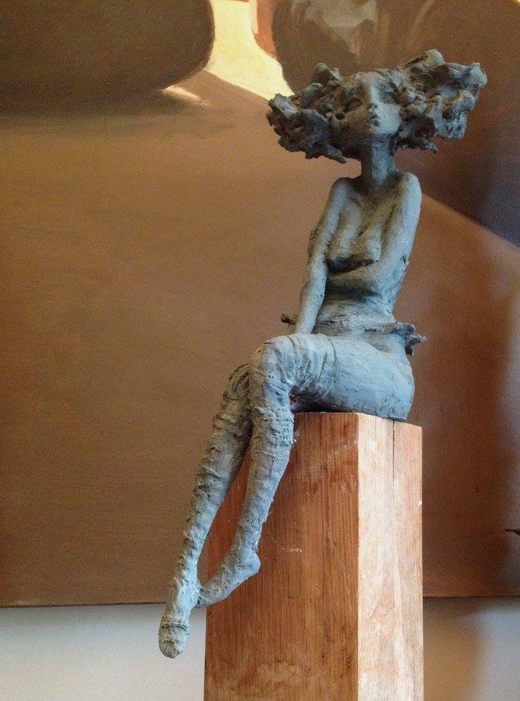 Petite Luna – Valerie Hadida sculpture / EXPO : ART UP Lille, Grand Palais du 25 au 28 février 2016 !