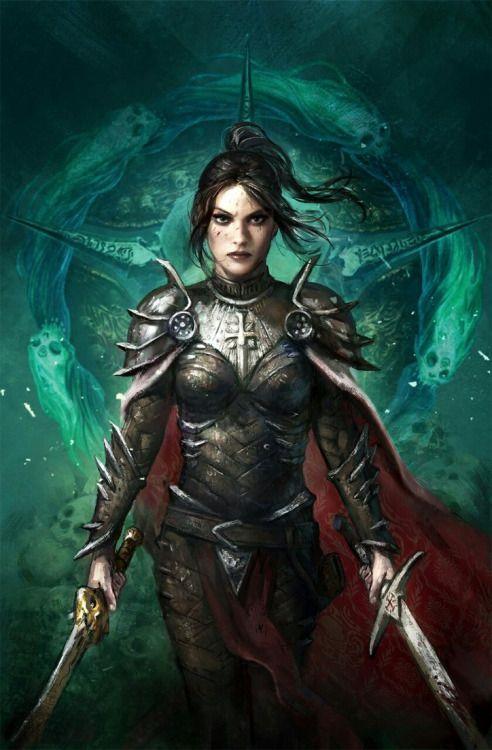 4383 best fantasy female warriors images on pinterest - Fantasy female warrior artwork ...