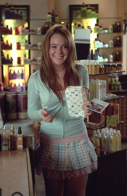 Lindsay Lohan in Mean Girls (2004)