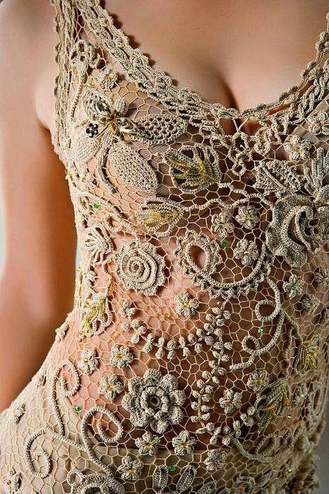 Irish crochet is so beautiful