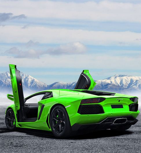 Ice Cool Lamborghini Aventador In Exotic Green! What Do