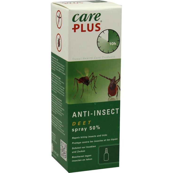 CARE PLUS Anti-Insect Deet Spray 50 prozent:   Packungsinhalt: 60 ml Spray PZN: 09893761 Hersteller: Tropicare Deutschland GmbH Preis:…