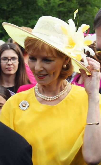 Crown Princess Margareta, May 10, 2015 in Kristina Dragomir
