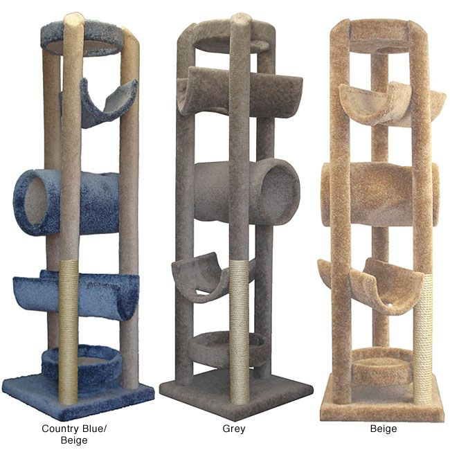 Elegant Give Your Cat Plenty Of Room To Scratch, Play, And Rest With This Cat Tower  From Molly And Friends. Handmade In The USA, This Cat Tower Gives Your Cat  Fun ...