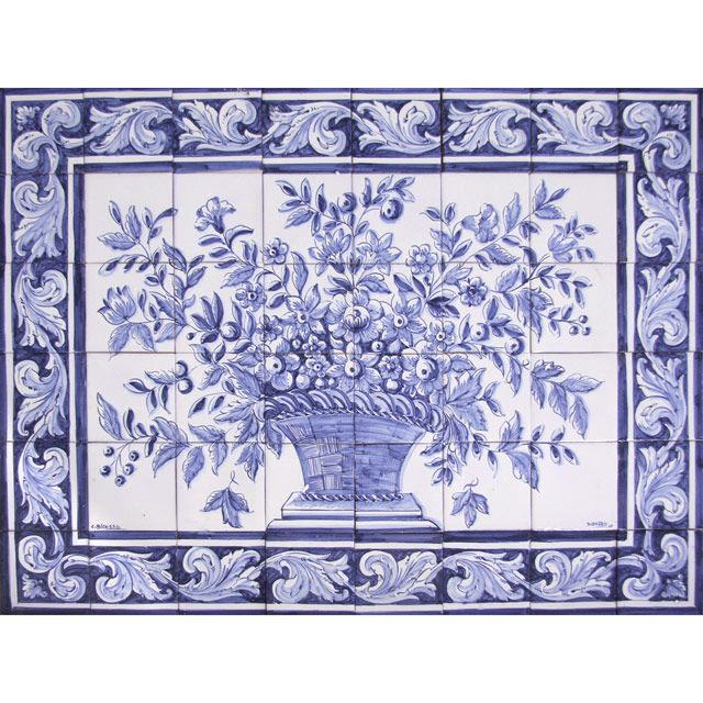 Portuguese Tiles for Sale | Bicesse Tiles - Portuguese tiles from Portugal wall decorative ceramic ...