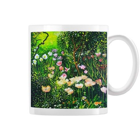 Spring Tulip Flowers  Mug by simon-knott-fine-artist at zippi.co.uk