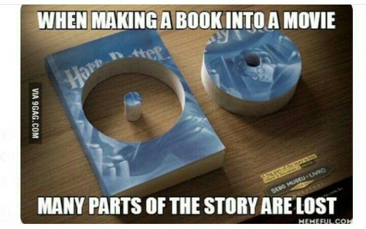 omg who would do that to a perfectly good copy of harry potter and the order of the phoenix?? nice reference tho