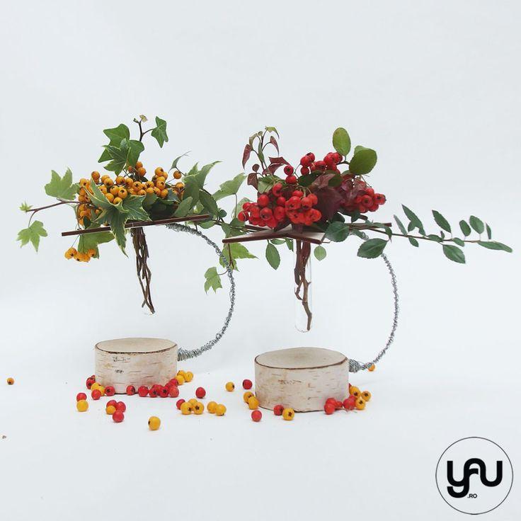 bobite colorate intr-un aranjament floral cu lemn _ yauconcept _ elenatoader (4)