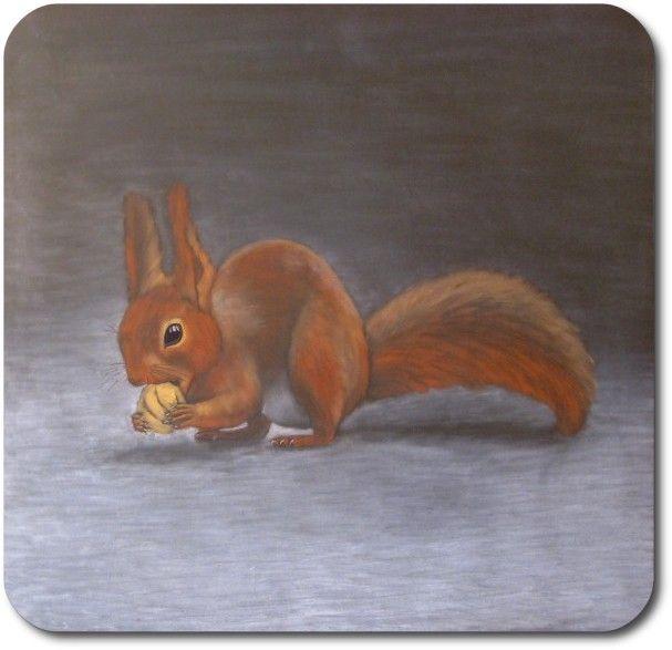 Waldorf ~ 4th grade ~ Human  Animal ~  Squirrel ~ chalkboard drawing ~ http://www.waldorf-ideen-pool.de/index.php?aid=2600