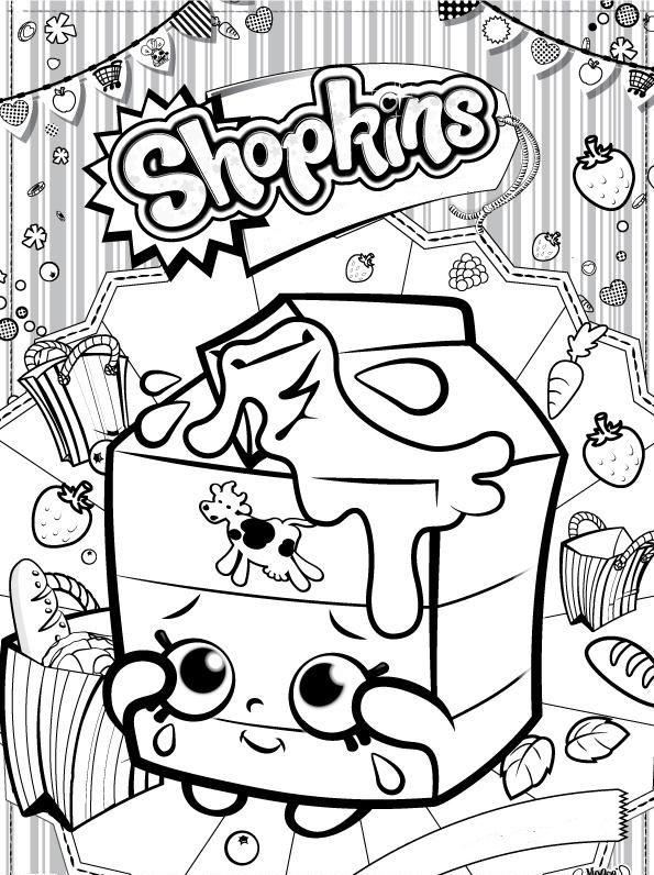 15 dibujos gratuitos de shopkins para colorear y pintar para los nios