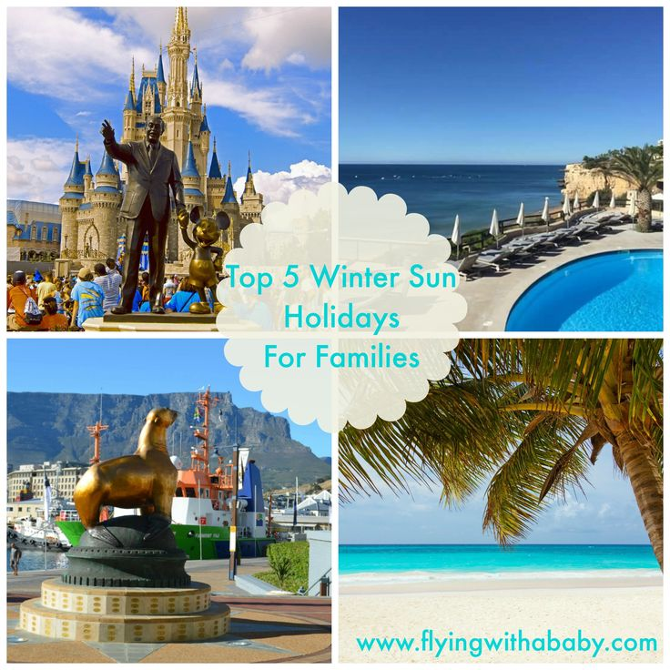 Top 5 Winter Sun Holiday Destinations For Families