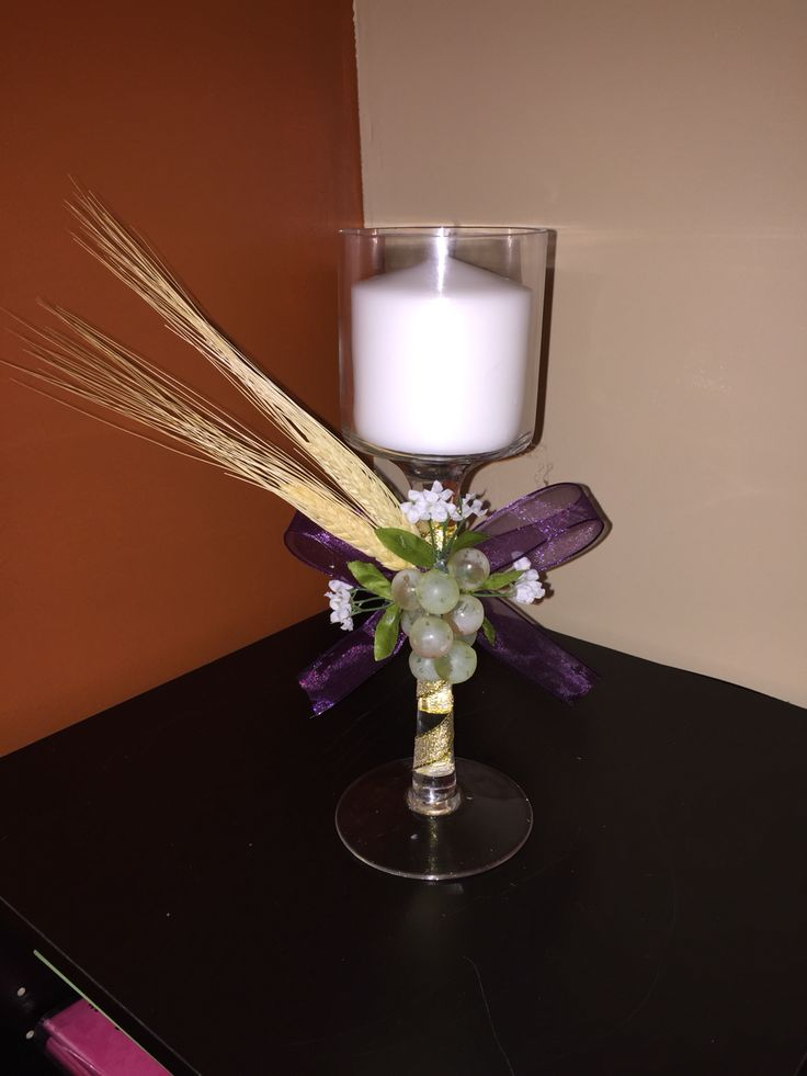 First communion centerpiece