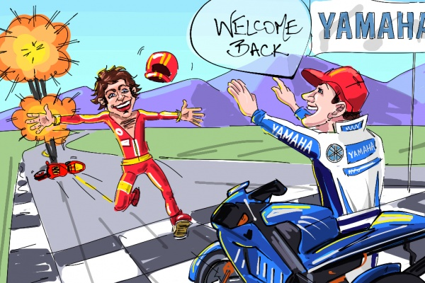 Valentino Rossi's return to Yamaha – A good or bad move?The Biker Store Blog