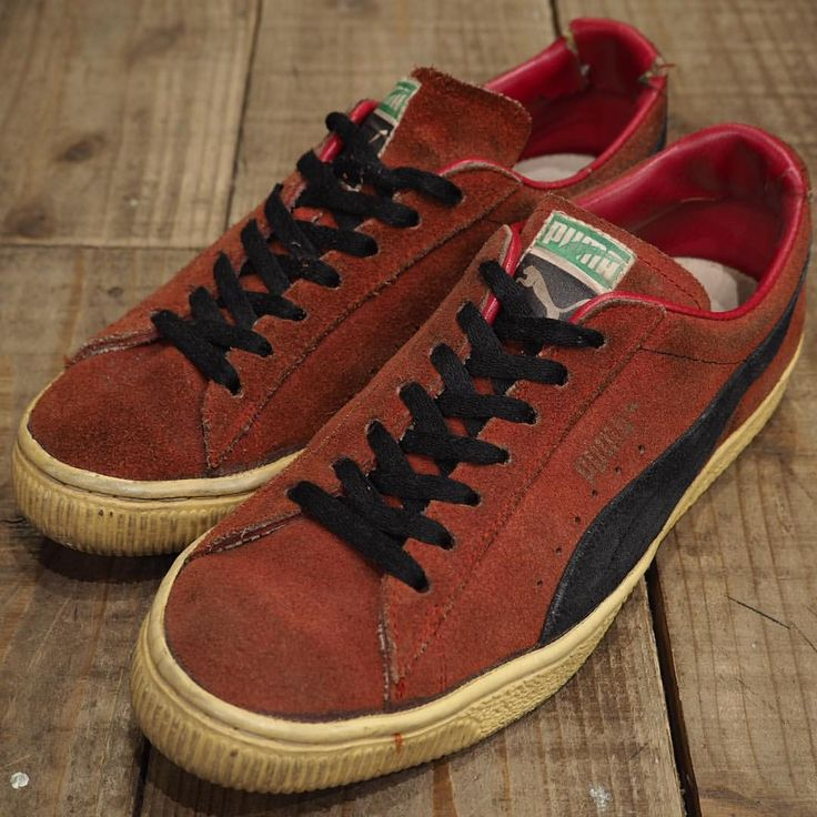 -New Arrival- 『1980'S PUMA SUEDE SNAKER SIZE 7 1/2』  オールドのプーマ。 ヴィンテージらしい深い色味がグッド。 ※お電話での商品問合せはご遠慮ください。通販をご希望の際はEメールにてお問合せくださいませ。 ※You can pay by PayPal. Please send us e-mail for more detail. #ACORN #VINTAGE #ヴィンテージ #ビンテージ #VINTAGE買取 #ヴィンテージ買取 #ビンテージ買取 #高価買取 #古着買取 #業界No1査定 #PUMA #80s  via ✨ @padgram ✨(http://dl.padgram.com)