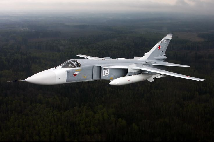 Su-25 Frogfoots And Su-24 Fencers Arrive At Russia's Burgeoning Syrian Base